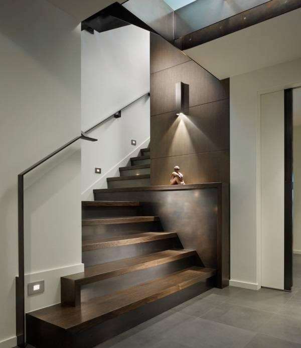 Идея для потрясающего освещения лестницы