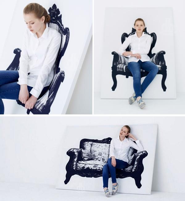Мягкая мебель в картинах