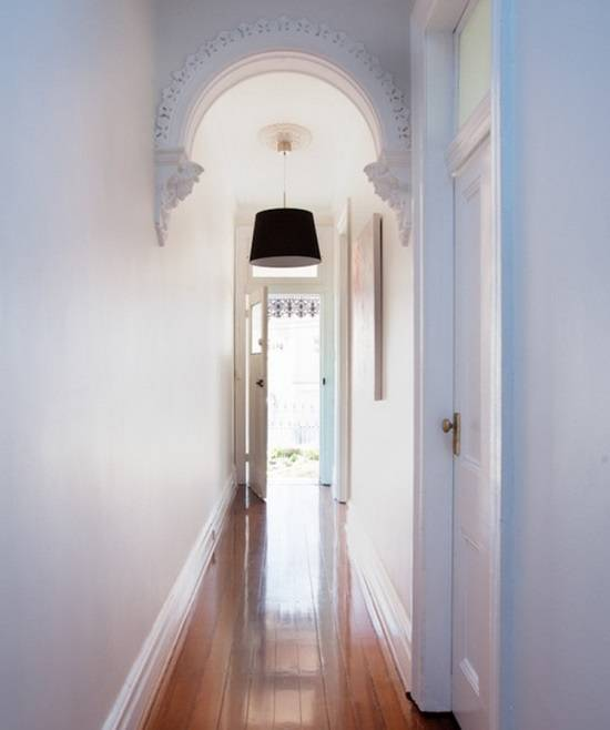 Красивая арка в коридоре