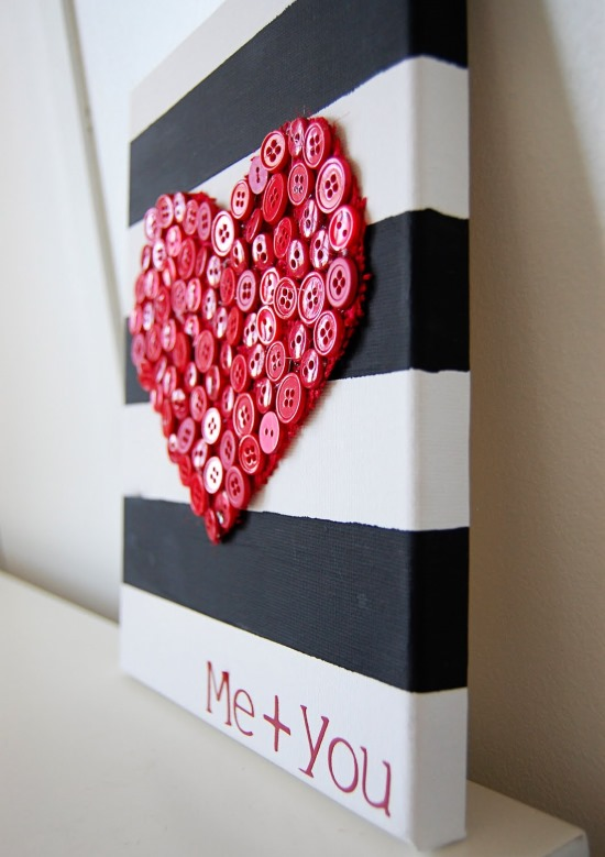 Поделка своими руками ко Дню святого Валентина