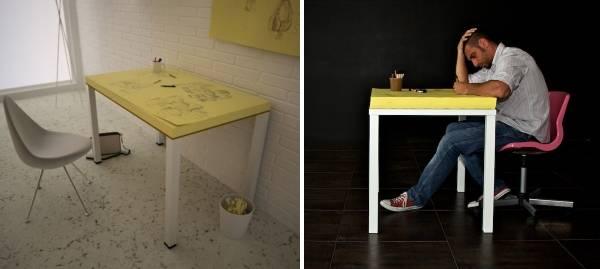 Письменный стол для творческой личности
