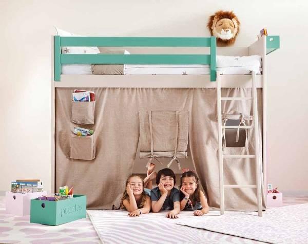 Идеи для двухъярусной кровати в детской