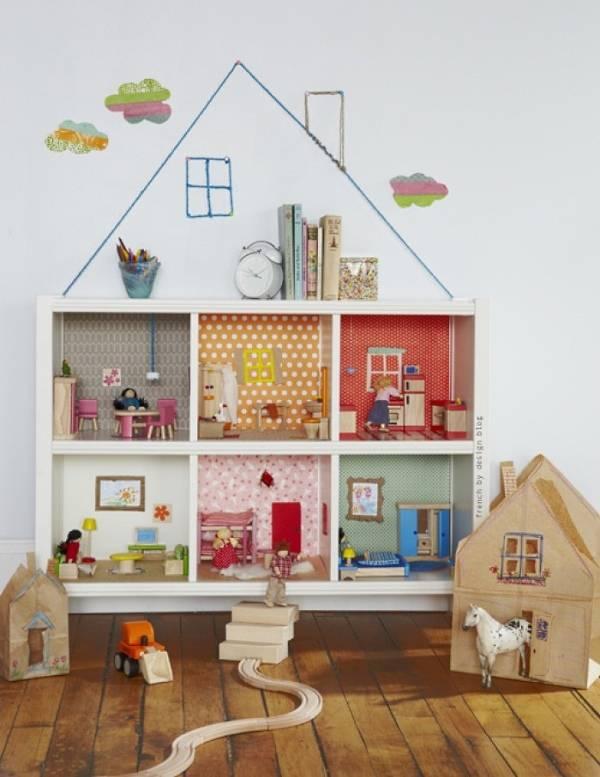 Декор комнаты для кукол