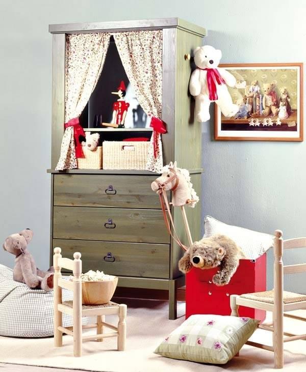 Применение старой мебели в детской