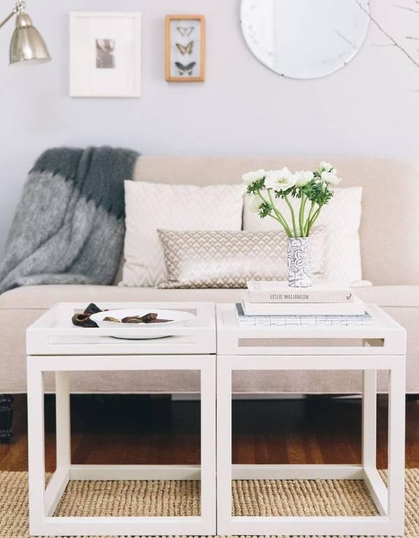 Маленькие столики для гостиной