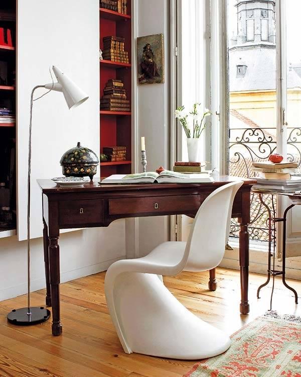 Стильное сочетание классической и современной мебели
