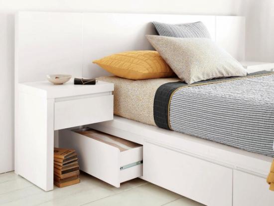 Модульные системы для хранения вещей в спальне