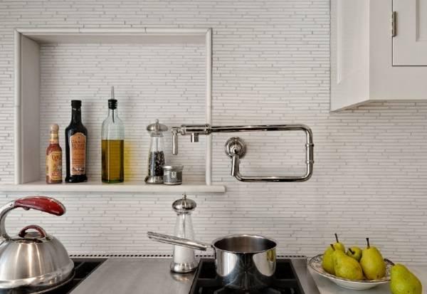 Небольшая ниша в дизайне кухни