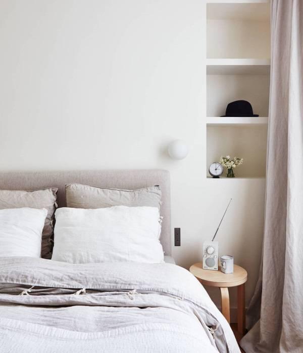 Yatak odası tasarımında nişler
