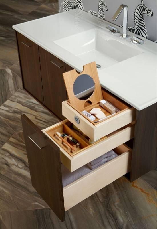 Органайзер для ящика в ванной