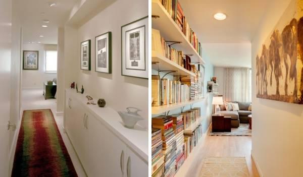 Как оформить небольшой коридор в доме: 7 способов + 45 фото