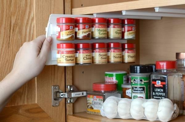 Идея для экономии места на кухне