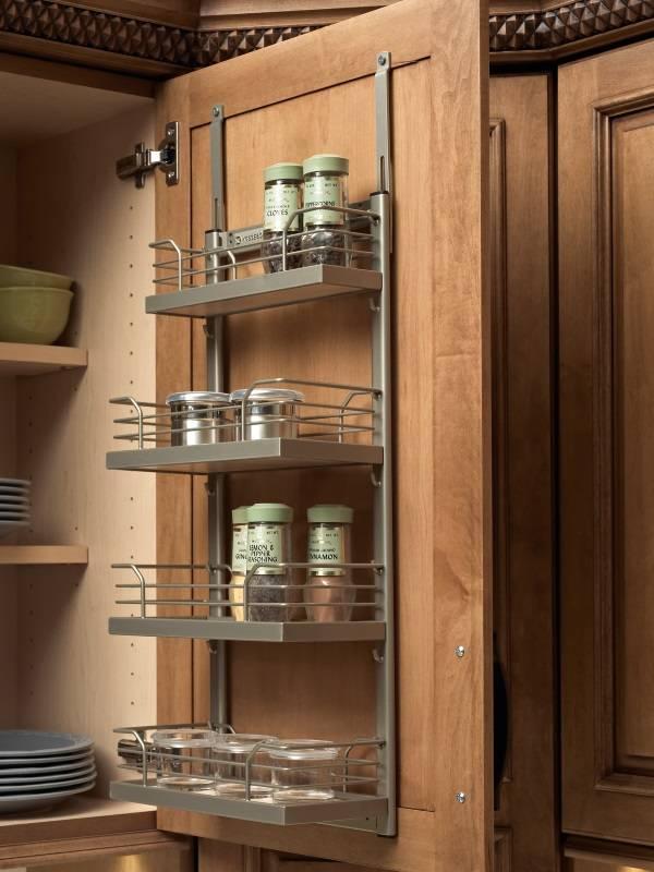 Полки для дверей кухонного шкафчика
