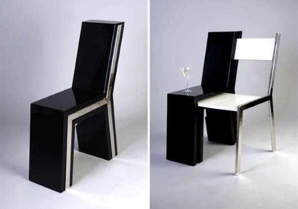 Стильный стул со стулом