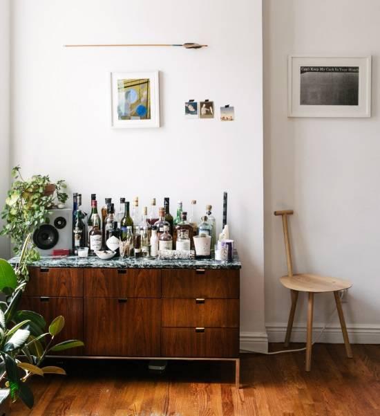 Ретро-мебель 50-х в современном интерьере