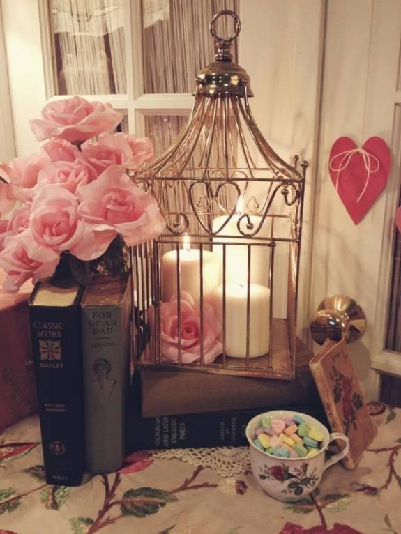 Романтичный декор для интерьера (винтаж)
