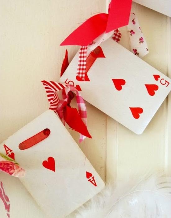 Стильная гирлянда для украшения дома на День святого Валентина