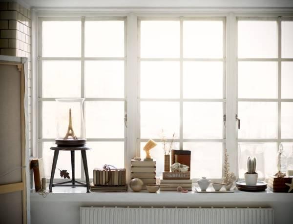 Как украсить окно и подоконник: 55 лучших идей