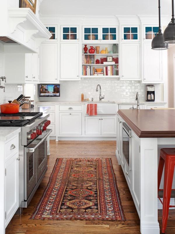 Стильный коврик для кухни