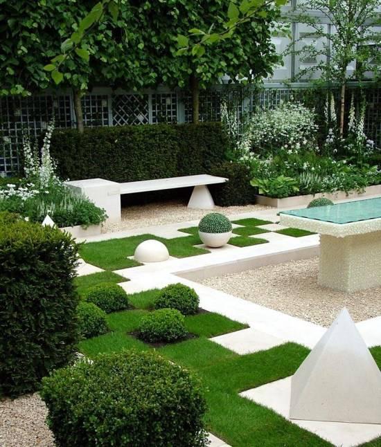 Идея для стильного сада