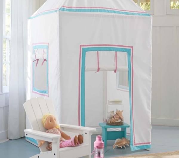 Домик для детской из ткани