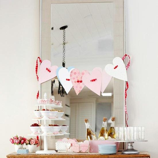Идея для небольшой вечеринки на День святого Валентина