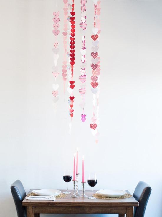 Идея для романтического ужина в День святого Валентина