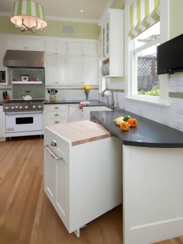 Выдвижной шкафчик для кухни