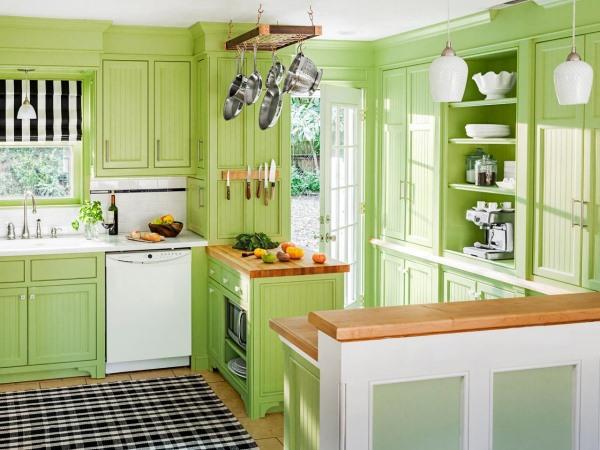Кухонная мебель в стиле шейкер