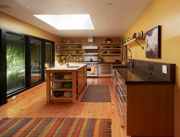 Украшение кухни ковриками