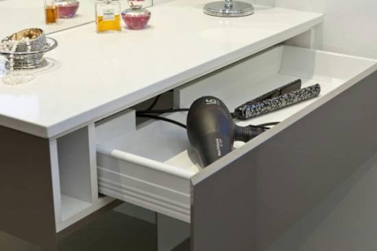 Безопасное хранение техники в ванной
