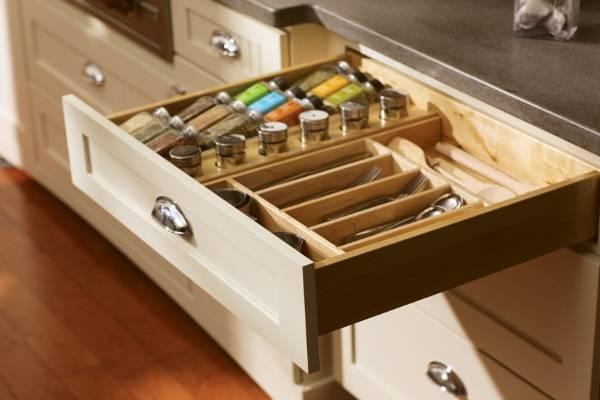 Ящик для специй и столовых приборов