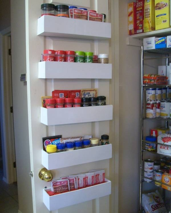 Идея для хранения специй на кухне