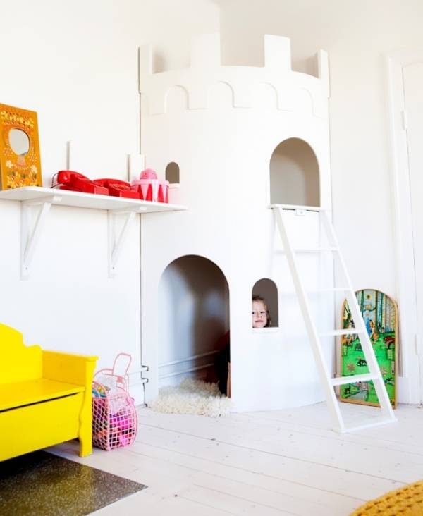 Королевский замок для детской своими руками