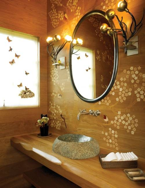Ванная в азиатском стиле