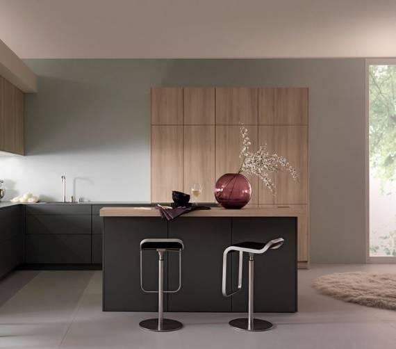 Декор для кухни цвета марсала
