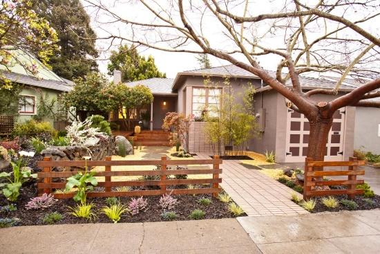 Дизайн дворика и сада в стиле дзен