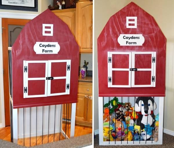 Дом для мягких игрушек