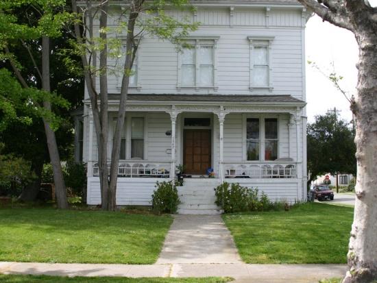 Большой дом в викторианском стиле (до)