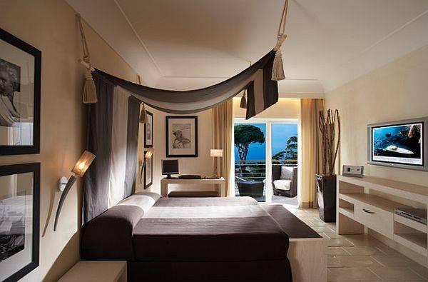 Идея для подвески балдахина над кроватью
