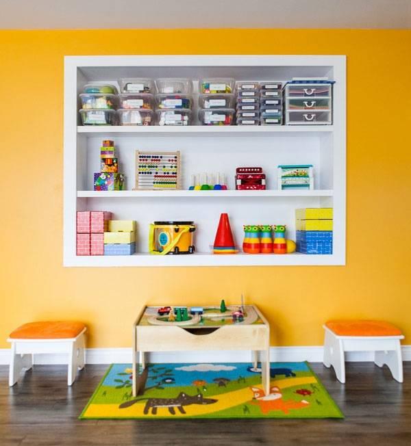Организованное хранение вещей в детской