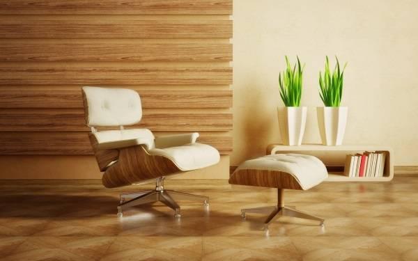 Кресло Эймс в белом варианте