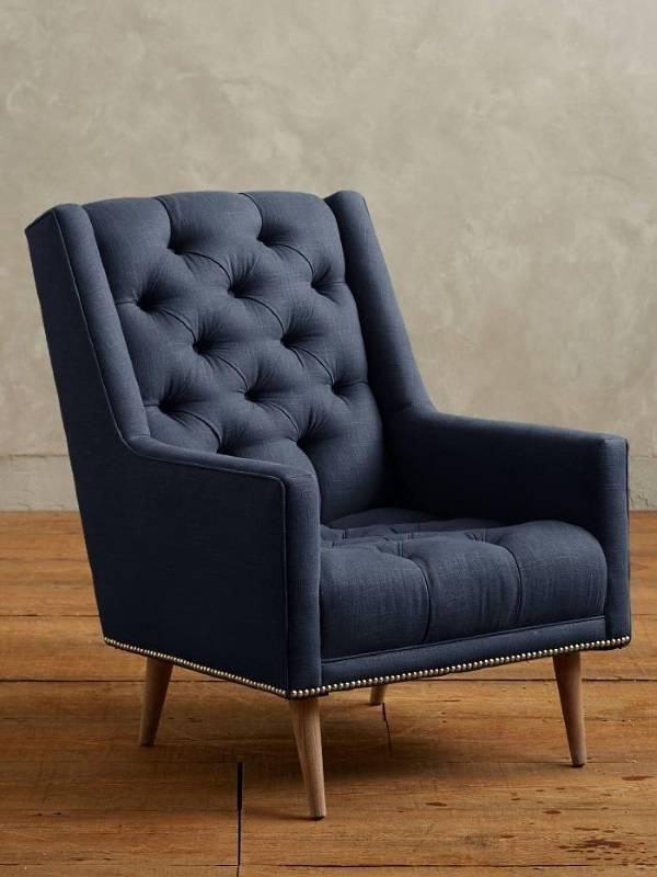 Кресло с льняной обивкой от Anthropologie