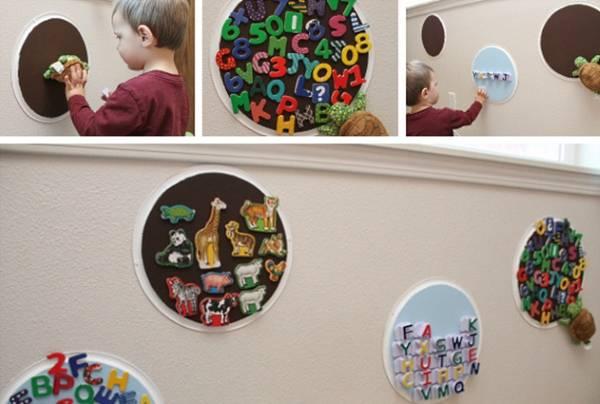 Использование магнитов в детской