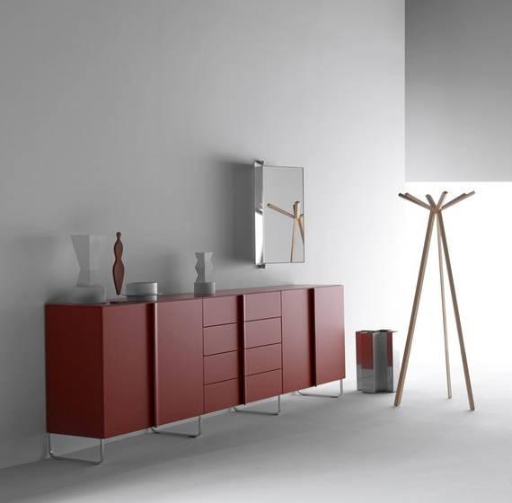 Мебель цвета марсала
