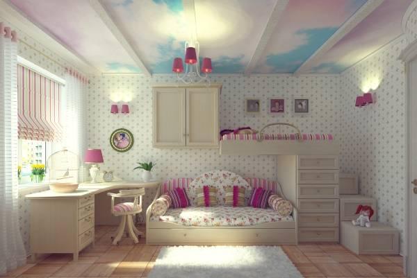 Вдохновляющий дизайн потолка