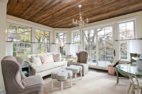 Дизайн потолков: 30 красивых идей