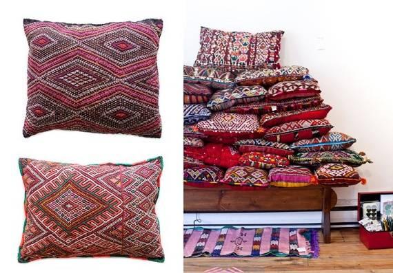 Интерьерные подушки в восточном стиле