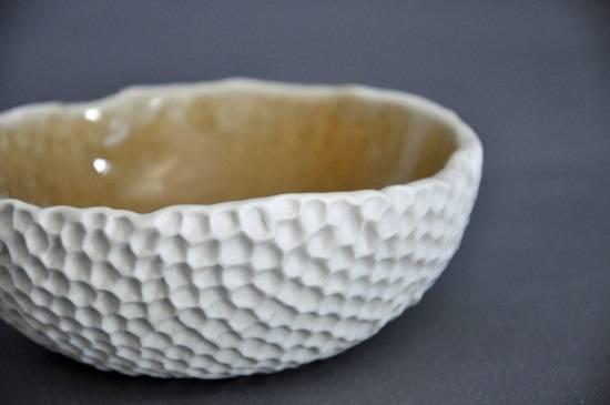 Скульптурная керамическая посуда