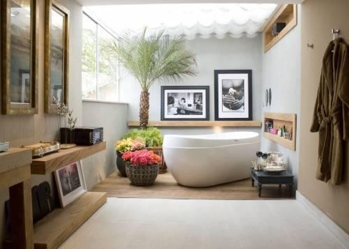 Ванная как комната отдыха